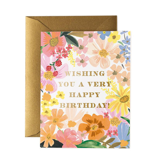 Birthday Card- Rifle Paper Co: Marguerite #B-74