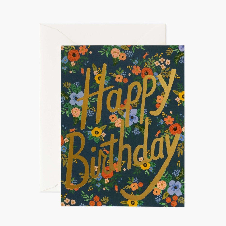 Birthday Card- Rifle Paper Co: Birthday Garden #B-66