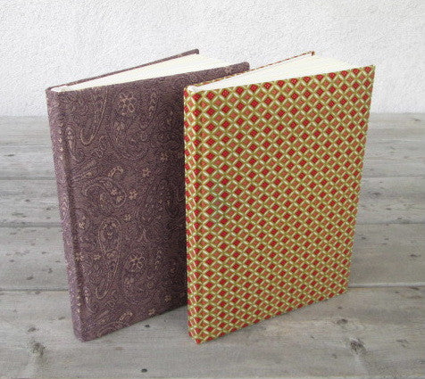 PaperyWorks Fabric-Covered Journals