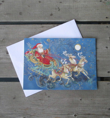 Santa's Ride Boxed Christmas Cards (14)