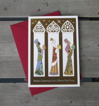 Three Wise Men Packaged Christmas Cards (5)