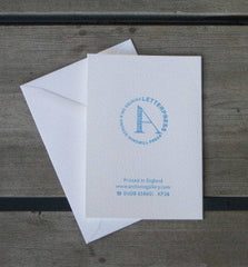 Letterpress Christmas Note Cards (6)