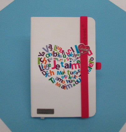 Lanybook Italian Lined Journal- Je t'aime