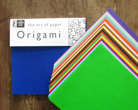 15 cm Origami Solid Colour Assortment