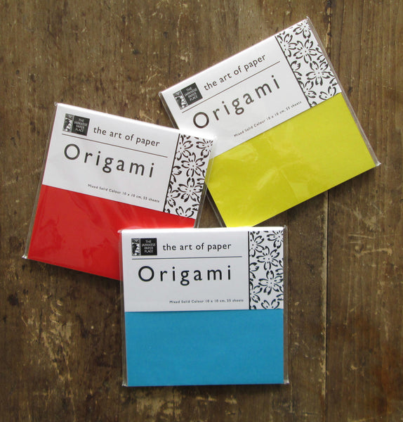 10 cm Origami Solid Colour Assortment