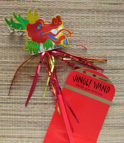 Chinese New Year Jingle Wand