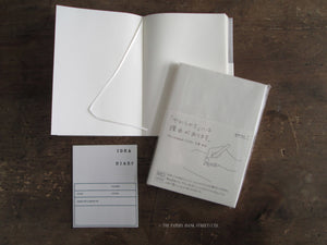 Midori MD Notebook Cotton Blank Small A6