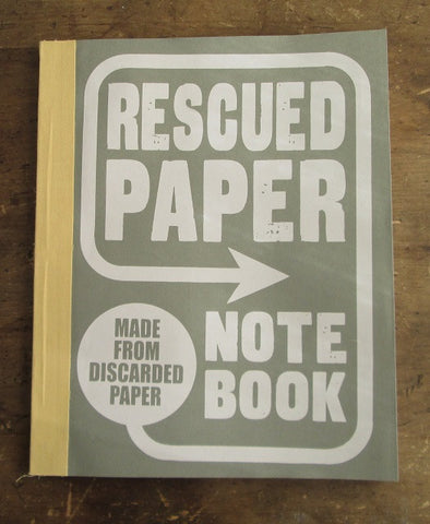 Rescued Paper Notebooks