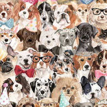 Load image into Gallery viewer, Wrapping Paper- Party Pups
