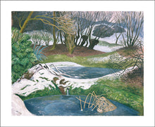 Load image into Gallery viewer, John Nash: Frozen Ponds   JN1985X