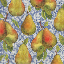 Load image into Gallery viewer, Giulia Blue & Classical Pears Napkins  L892440, C/L878040