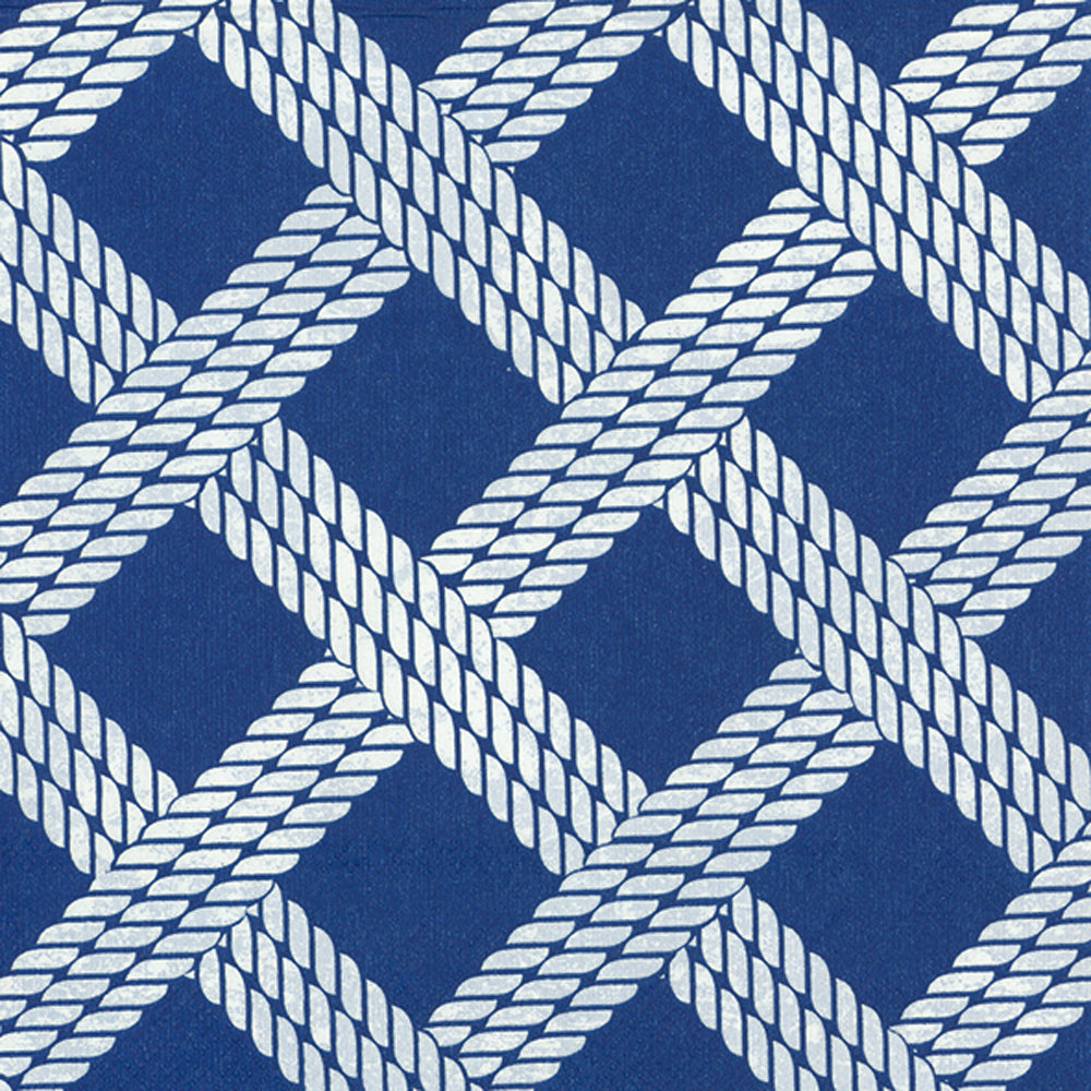 IHR Luncheon Napkins- Sailor's Rope blue  #L861340