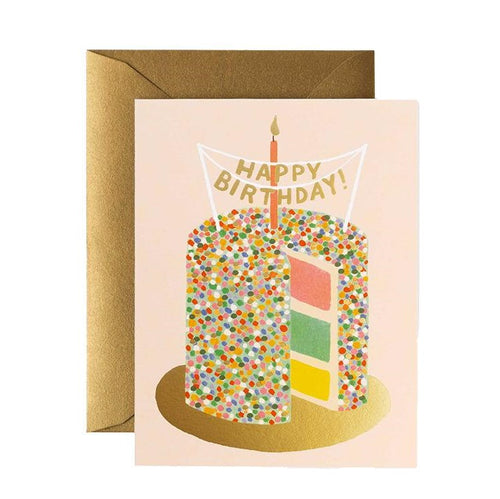 Birthday Card- Rifle Paper Co: Layer Cake #B-60