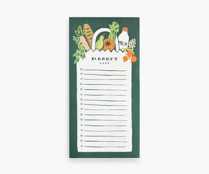 Rifle Paper Market List Notepad #NPS001