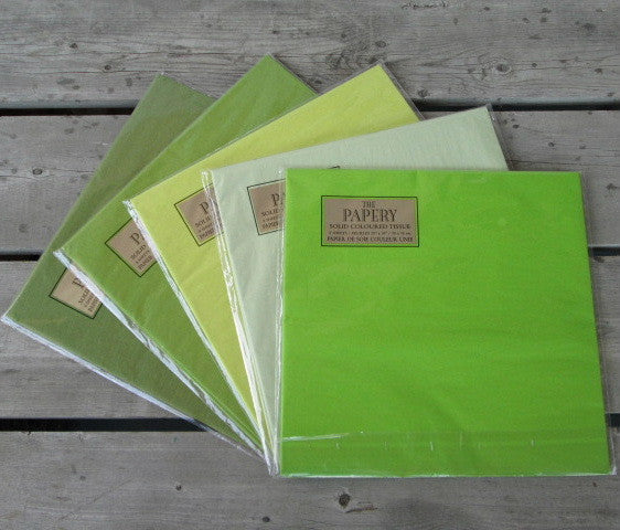 Glowing Greens Tissue Paper Assortment