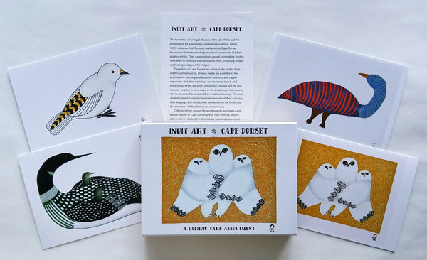 Inuit Art, Cape Dorset Holiday Card Assortment