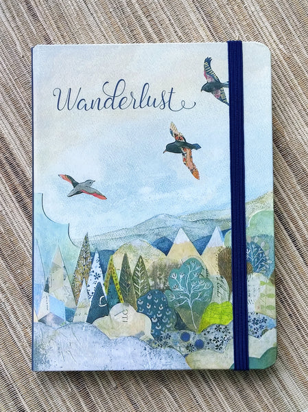 Wanderlust Lined Journal
