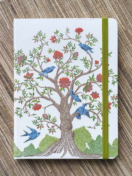 Summer Tree of Life Lined Journal