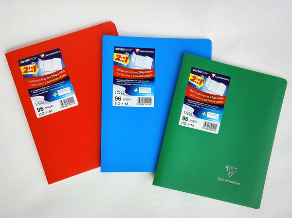 Clairefontaine Notebook Koverbook 170 mm x 220 mm