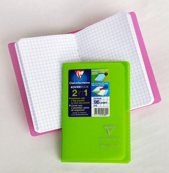 Clairefontaine Notebook Koverbook 9 cm x 14 cm