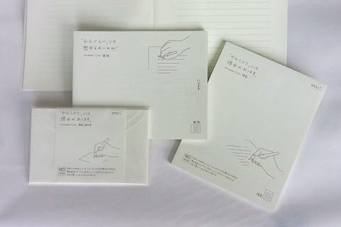 Midori MD Cotton Paper Notepad & Envelopes