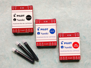 Pilot Kakuno Fountain Pens & Ink Cartridges