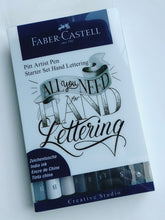 Load image into Gallery viewer, Faber-Castell Hand Lettering Set