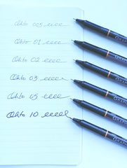 OHTO Graphic Liner Set of 6 Pens