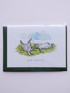Two Bad Mice Greeting Card