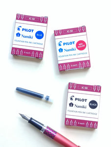 Pilot Metropolitan Retro Pop Fountain Pens & Ink Cartridges