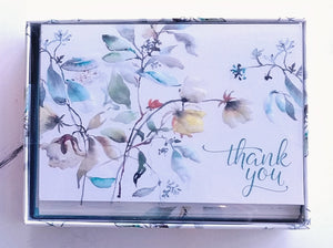 Asian Botanical Thank You Notes   #2325-3