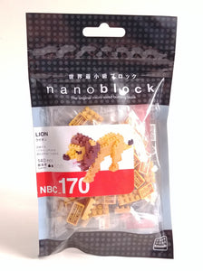 Lion Nanoblock Kit 170
