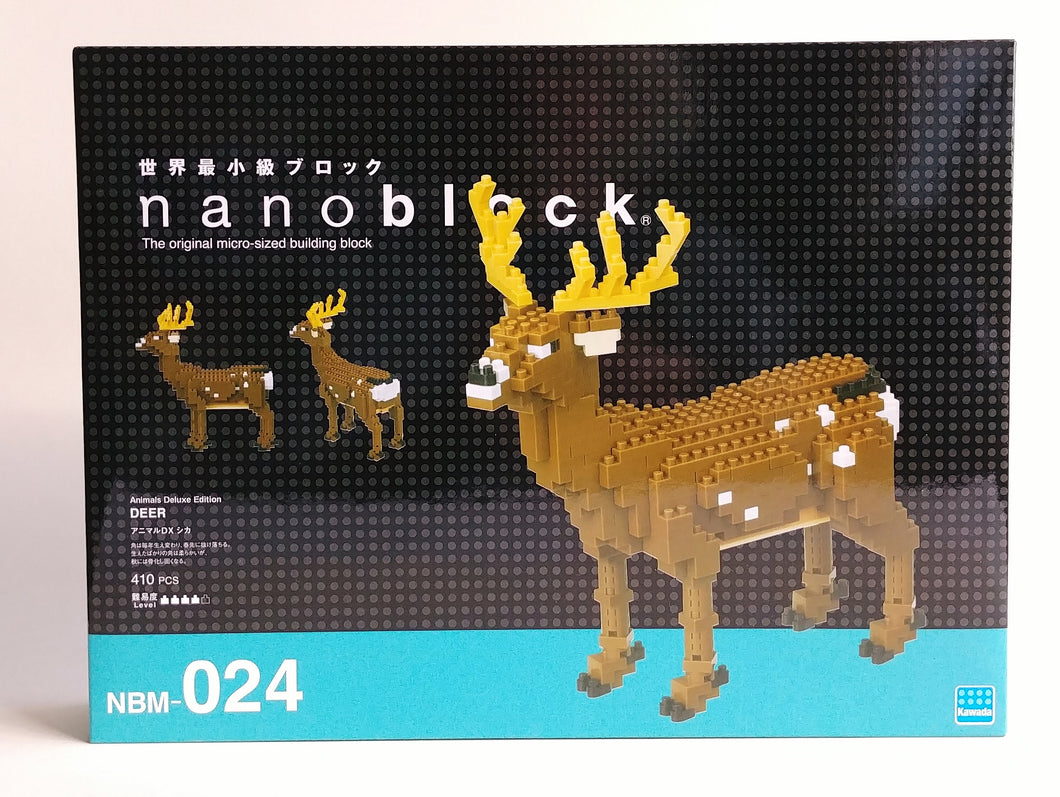 Deer Nanoblock Kit NBM024