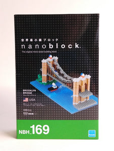 Brooklyn Bridge Nanoblock Kit 169