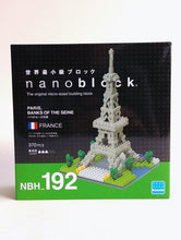 Load image into Gallery viewer, Paris, Banks of the Seine Nanoblock Kit 192