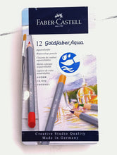 Load image into Gallery viewer, Goldfaber Aqua Watercolour Pencils- set of 12  #114612