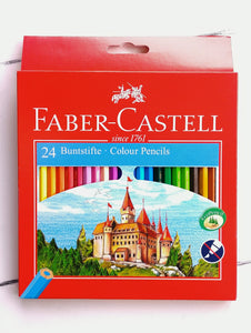 Castle Colour Pencils set of 24