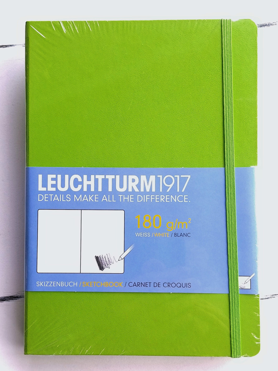 Leuchtturm1917 Sketchbook- Lime