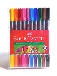 Faber-Castell Double-ended Felt Tip Markers