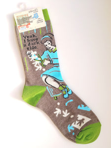 Yeah, I Have a Dark Side Women's Crew Socks SW466