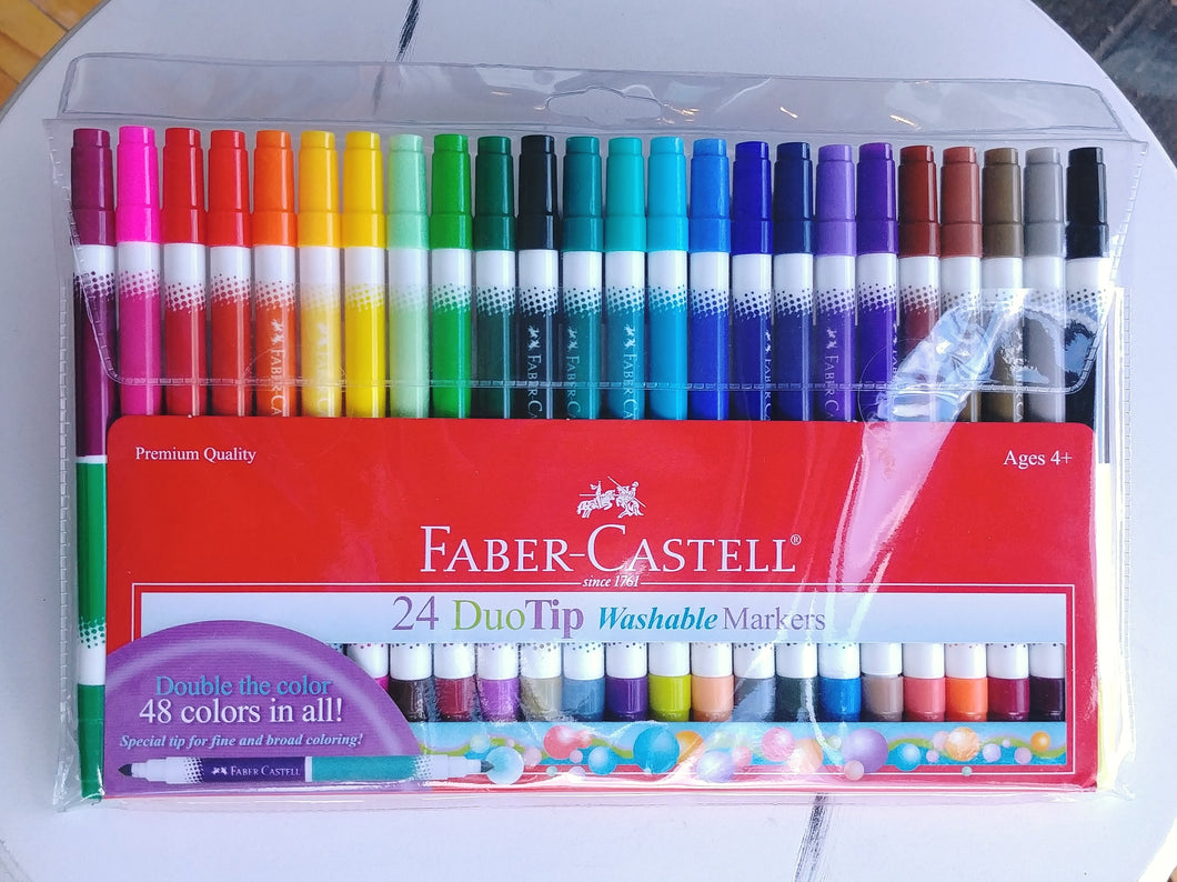 Faber-Castell Duo-Tip Washable Markers
