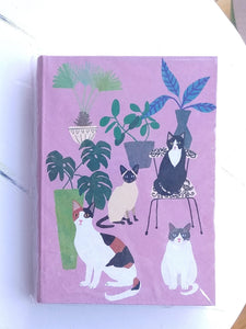 Roger La Borde Illustrated Journal- Cats