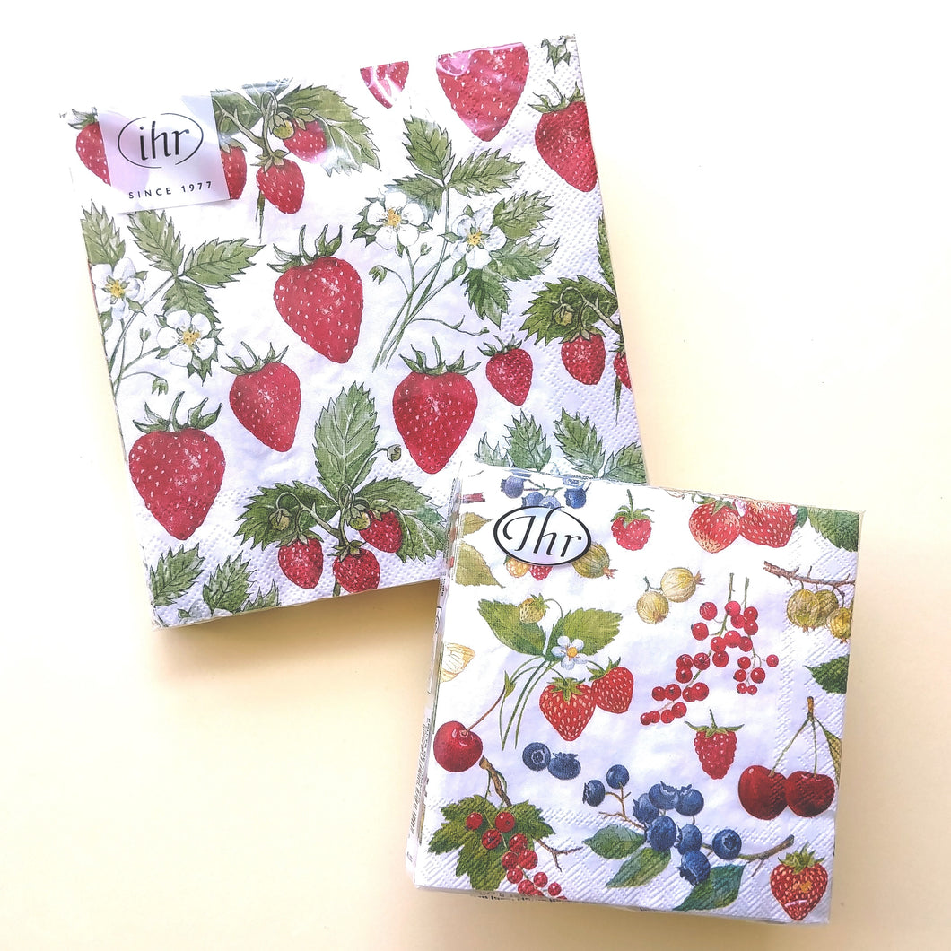 Strawberries/Fruits of Summer Napkins