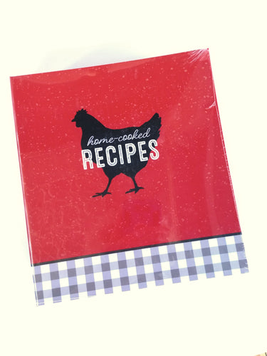 Home Cooked Recipe Binder   QP12-22723