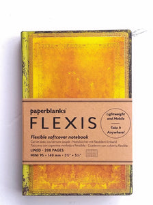 MINI Lined Journal- Ochre 208pgs   #6543-2