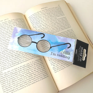 Mark It! Magnifier Bookmark- Shhhh