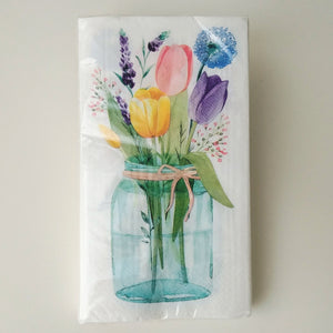 Tulip Garden Napkins- Dinner and Guest Towel #522495 / 532495