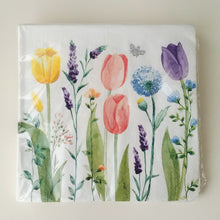 Load image into Gallery viewer, Tulip Garden Napkins- Dinner and Guest Towel #522495 / 532495