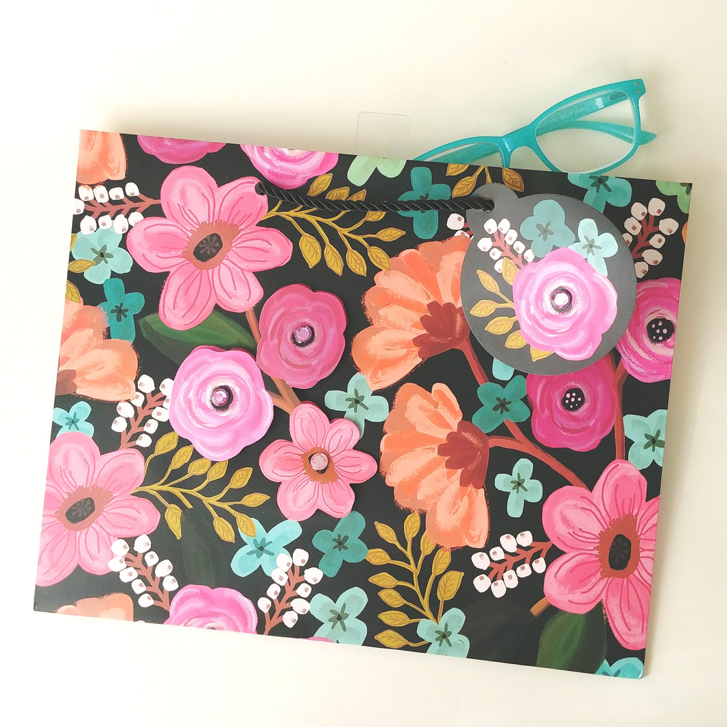 Gypsy Floral Large Euro Gift Bag LT209