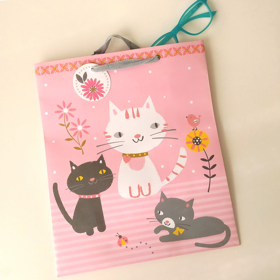 Feline Fun Large Gift Bag #4082-03